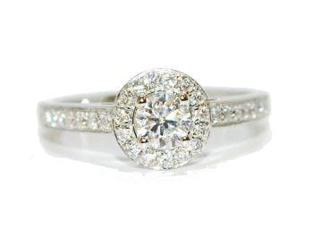 Classic Style Diamond Ring