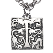 ikuria designer jewellery, silver pendant