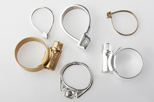 cable tie rings by ambre france