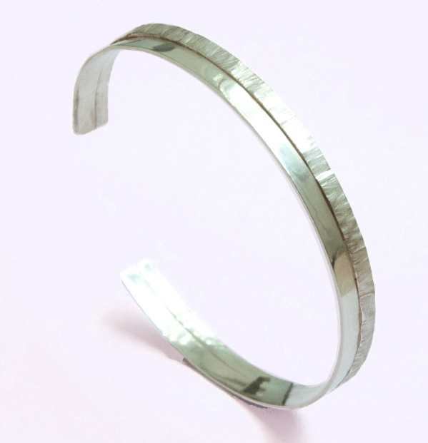 orbit silver bangle