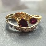 bespoke ruby engagement ring