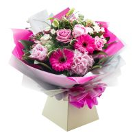 FLOWERS - Hand tied bouquets.