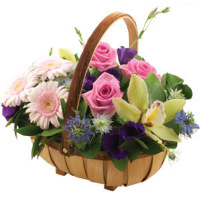 FLOWERS - BASKET ARRANGEMENTS