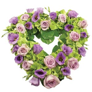 Lilac Open Heart