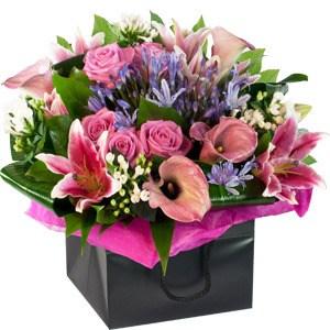 Pink & Blue Gift Bag