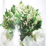 Lily of the valley Handtied Bouquet.