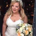 Gorgeous Stevie on her wedding day
