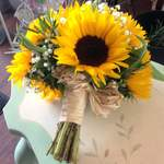 Rebecca Sunflower Wedding