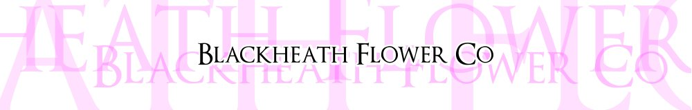 blackheath flower co, site logo.