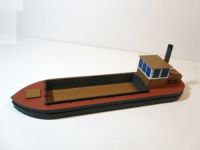 28mm scale Coastal barge