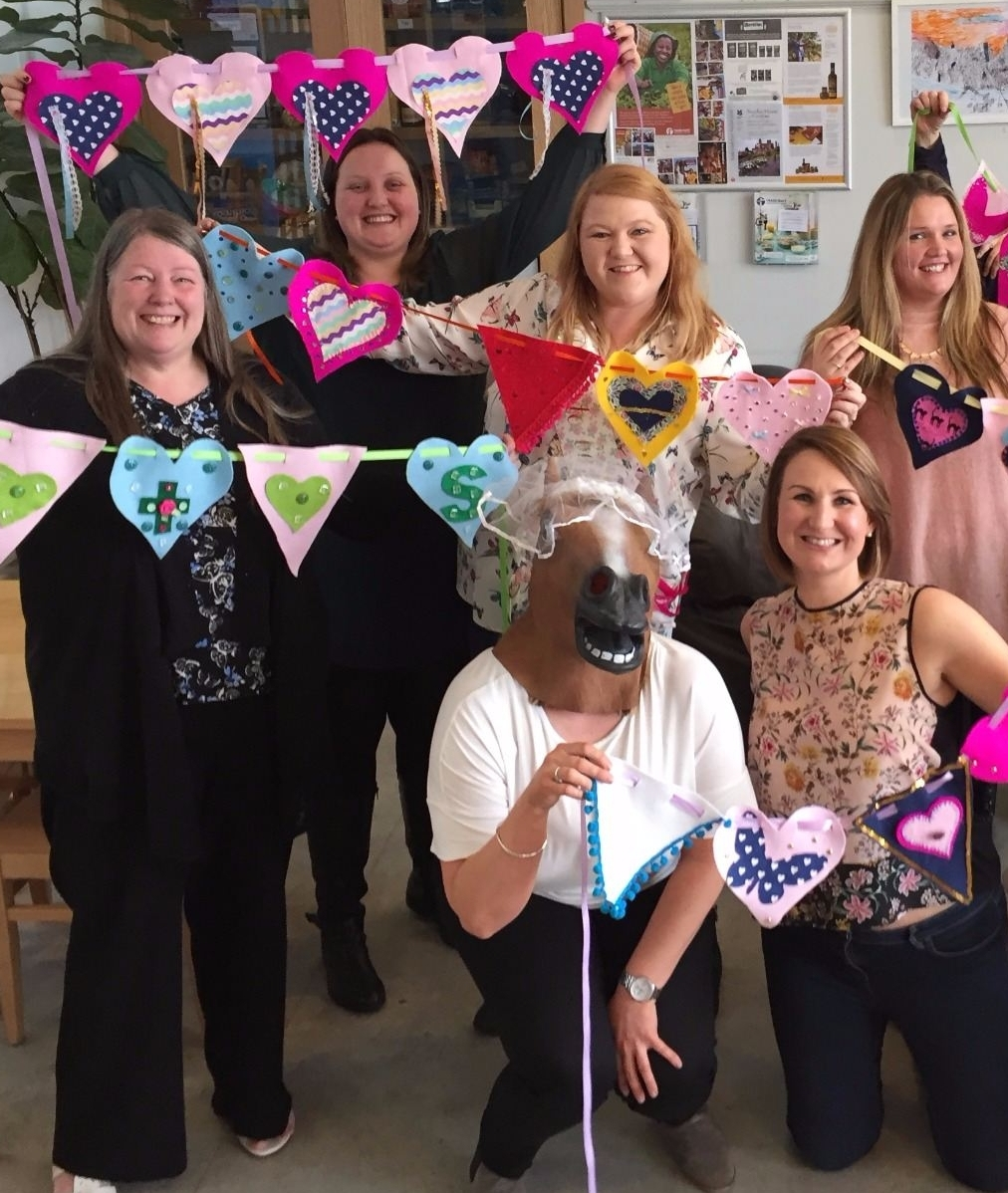 hen party bunting felt crafty brighton hove sussex