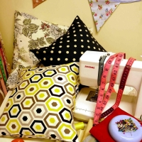 Cushion Making in Sewing Classes - Sew In Brighton