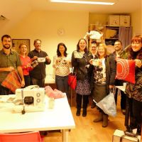 Learn to Use a Sewing Machine Nov 6th 2012