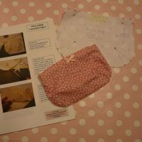 Learn to Use a sewing machine course Brighton - Purse insts and spl pic