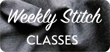 Weekly Stitch Classes