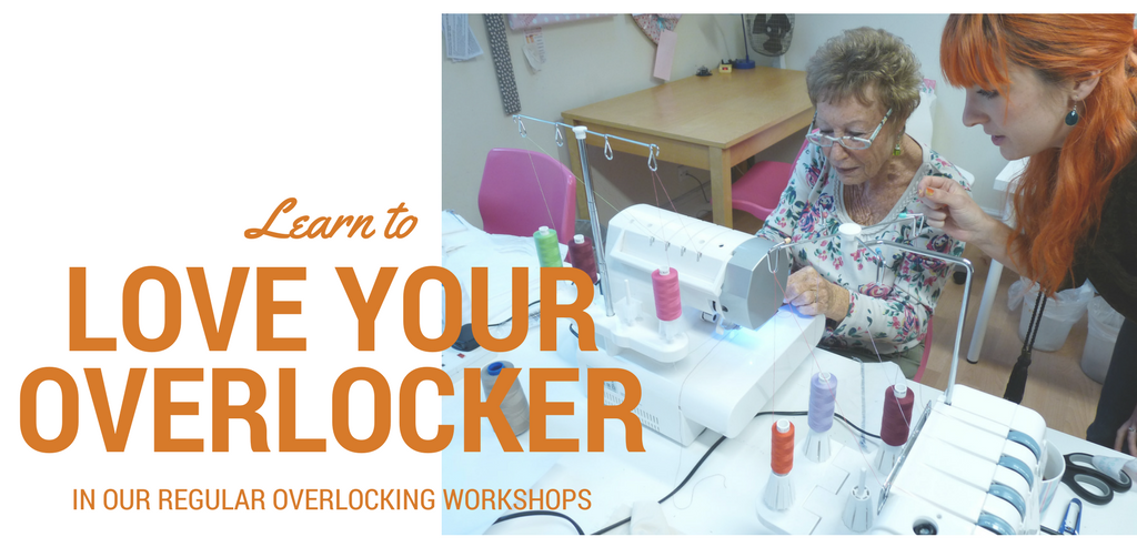 Love Your Overlocker. Sew In Brighton. banner2