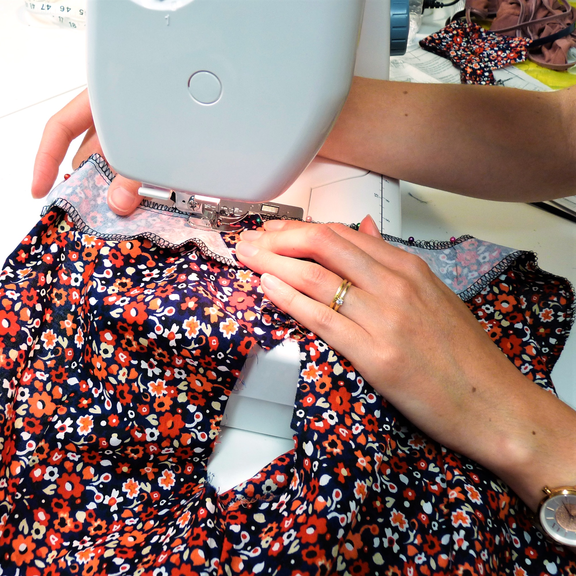 Weekly sewing classes in Brighton & Hove for all levels including total beginners