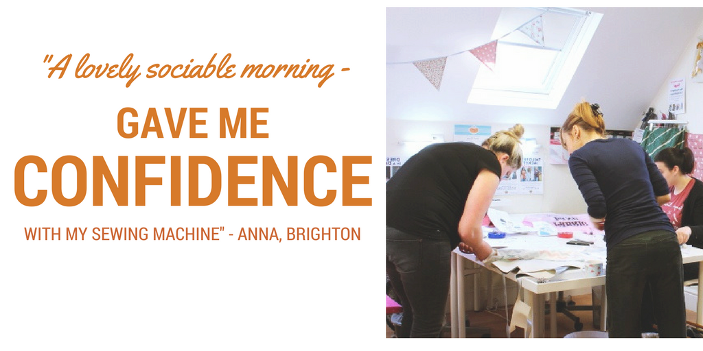 Sociable Stitch Classes homepage banner sew in brighton