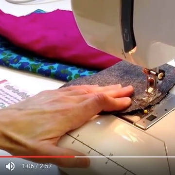 This technique for sewing round a curved edge with transform your sewing!
