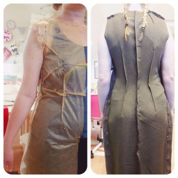 Dress block pattern class Sew In Brighton