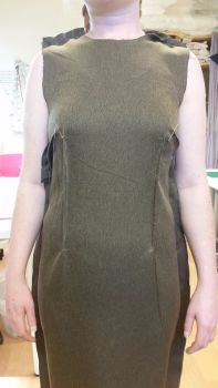fitting dress block lessons - classes at Sew In Brighton