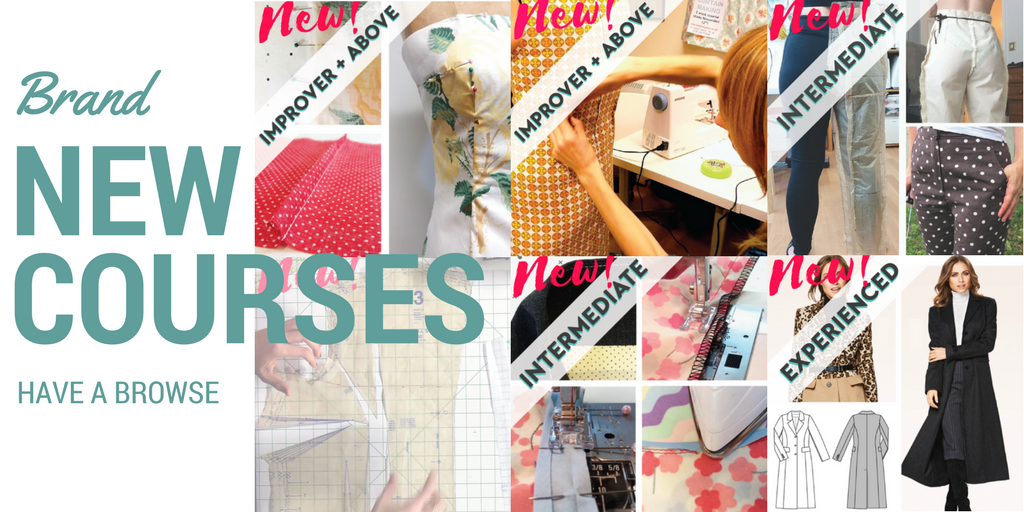 Brand new courses homepage banner autumn Winter Sew In Brighton 2017