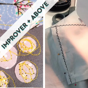Freestyle Machine Embroidery, Applique & Decorative Stitches