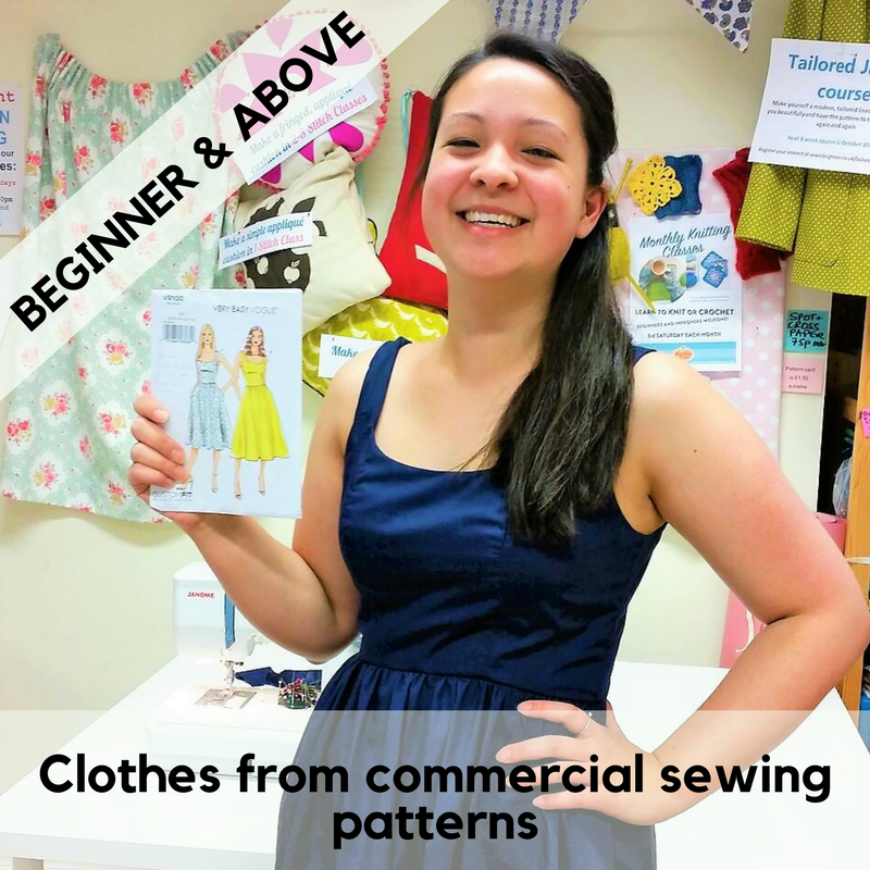 Make Clothes from Sewing & Dressmaking Patterns