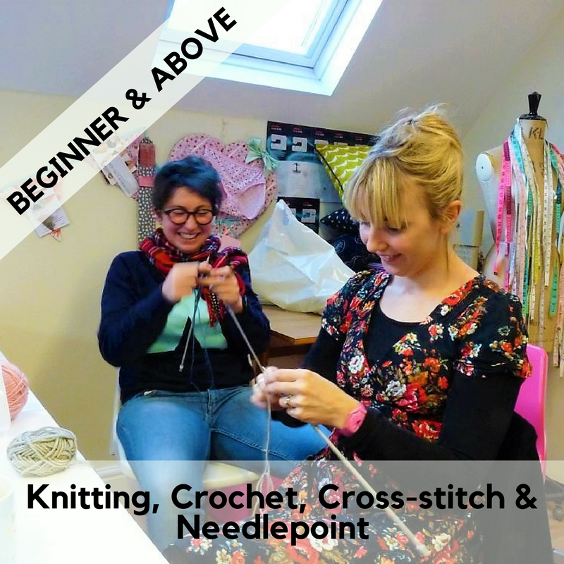 Knitting, Crochet, Cross-stitch or Needlepoint