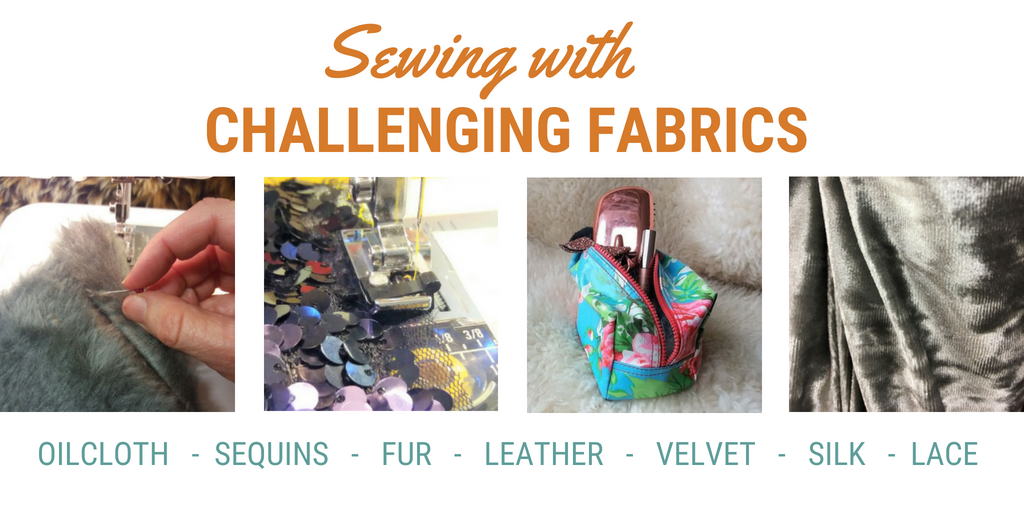 Challenging fabrics sewing lessons at Sew in Brighton