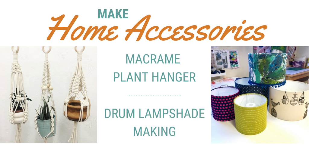 Home accessories sewing lessons at Sew in Brighton