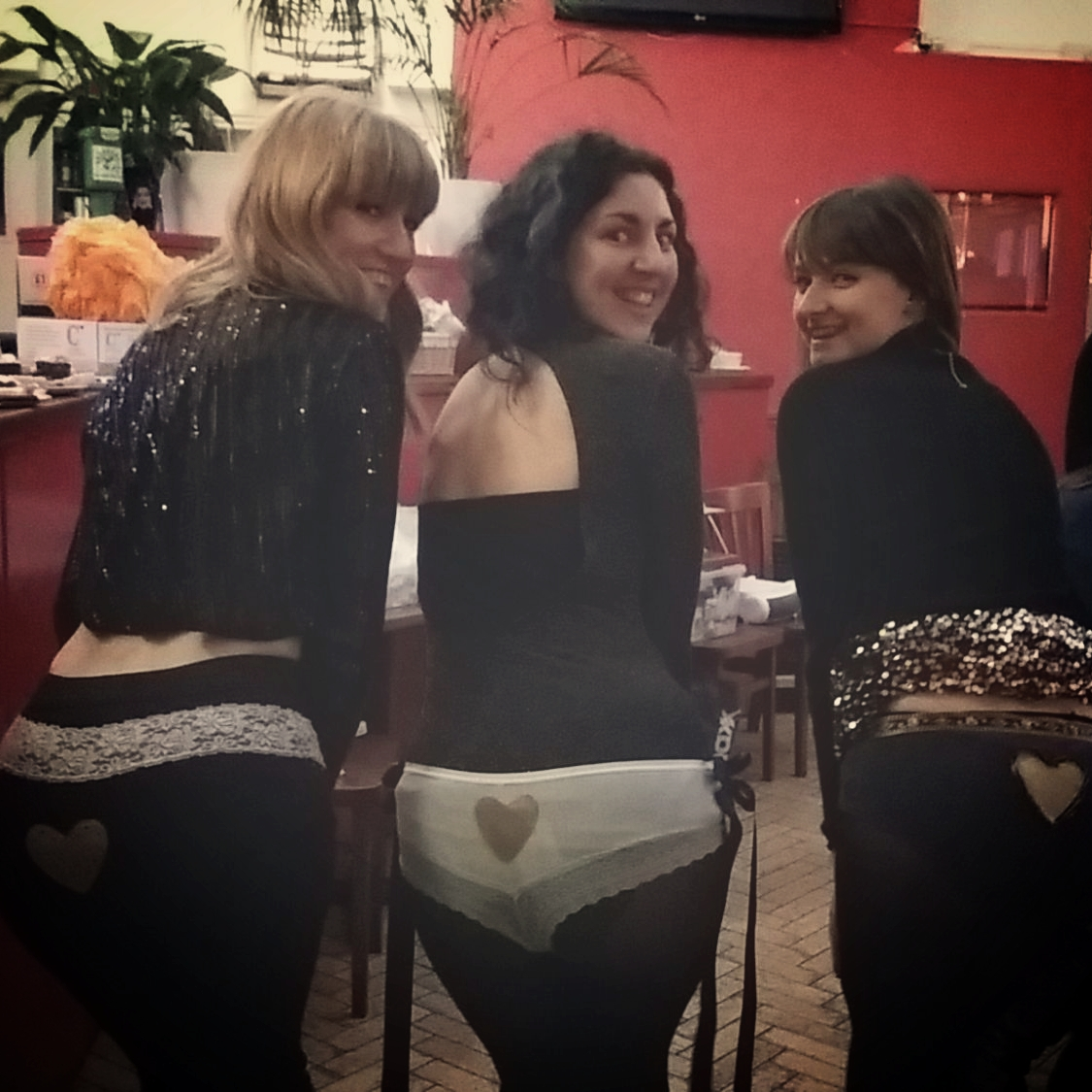 hi res - customised knickers hen party in Brighton