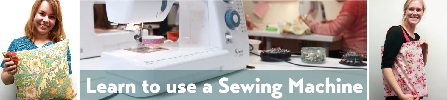 Learn to use a sewing machine brighton hove