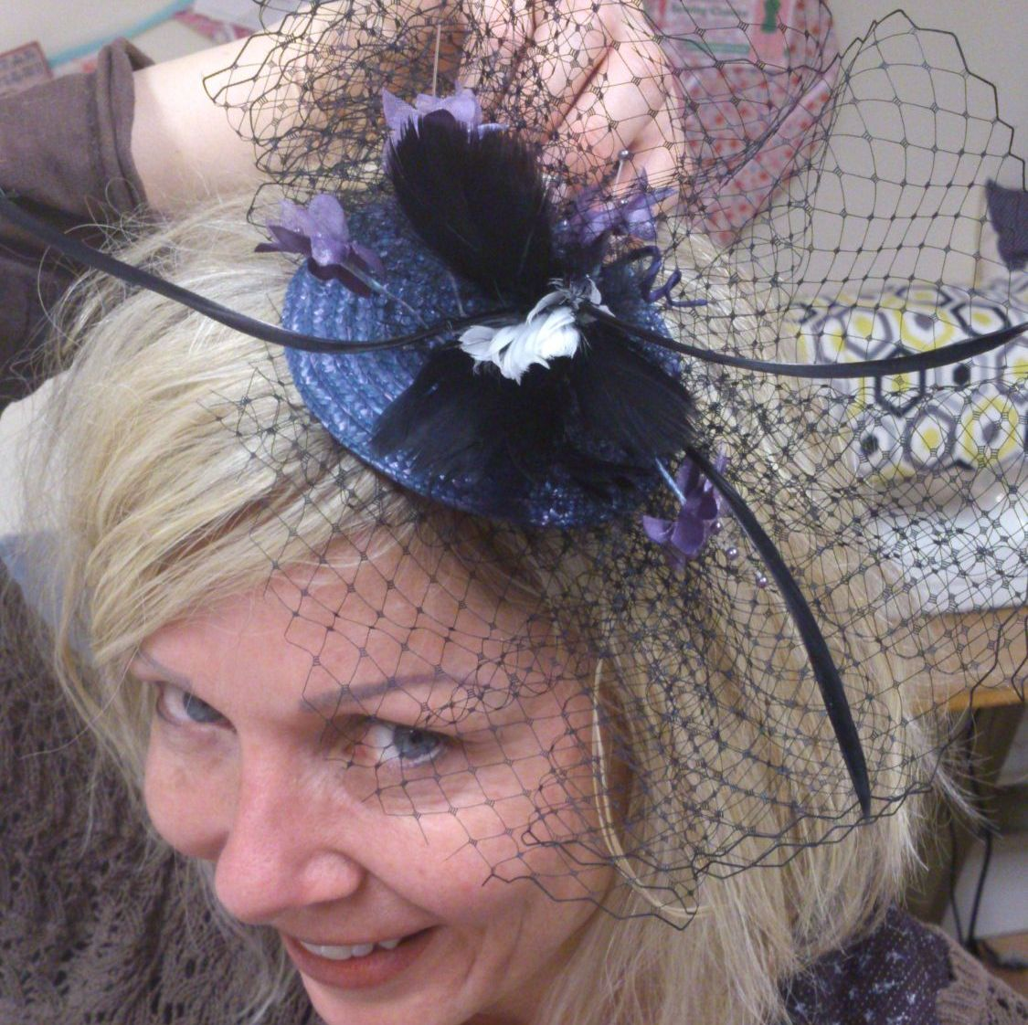 hen party fascinator 1