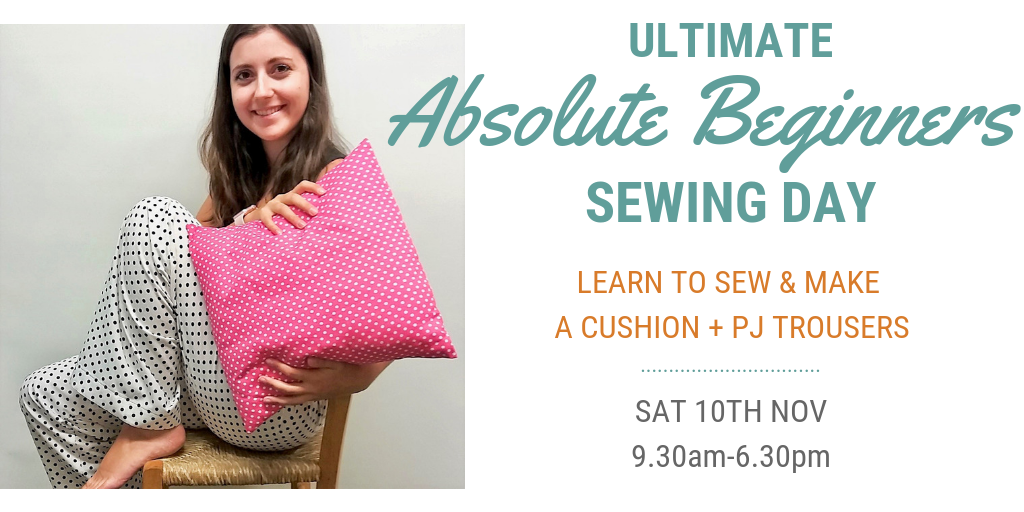 Ultimate Beginners Sewing Day Slideshow