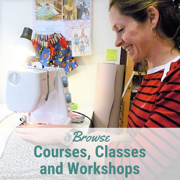Sewing classes, dressmaking courses & craft workshops at Sew In Brighton sewing school