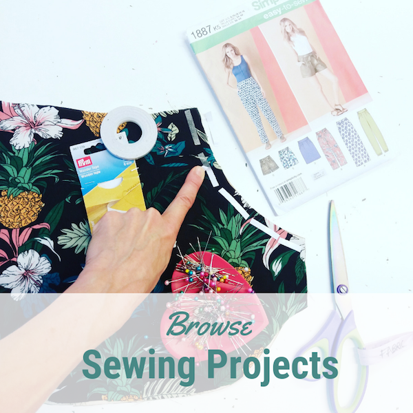 Browse sewing projects at Sew In Brighton