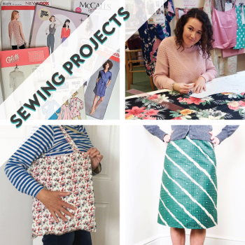 Sewing Projects: sew in Stitch Classes & 1-2-1 lessons