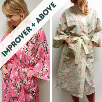 Kimono Style Robe Workshops (classroom - from April)