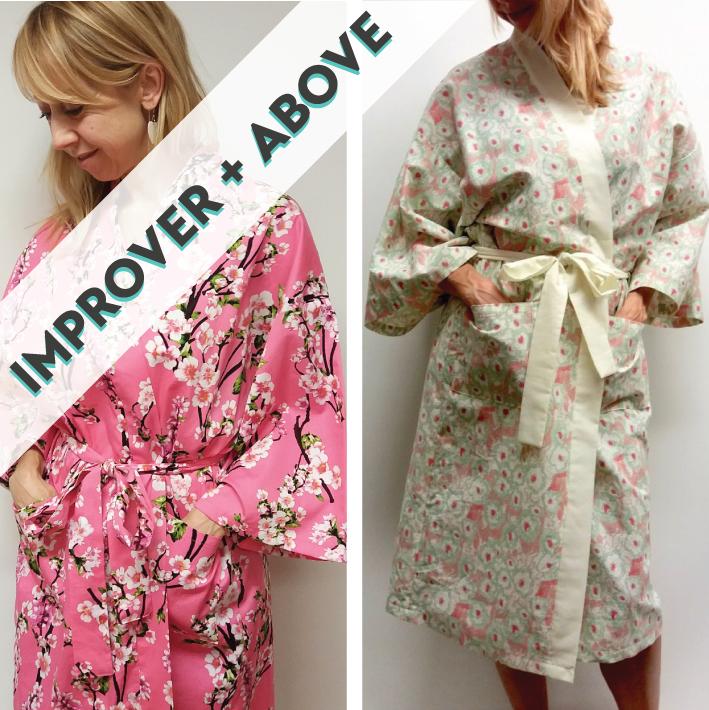 Kimono Robe Sewing Course