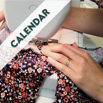 Sew In Brighton Class Calendar