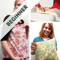 Learn To Sew & Make a Bag or Cushion - 3 hour workshop