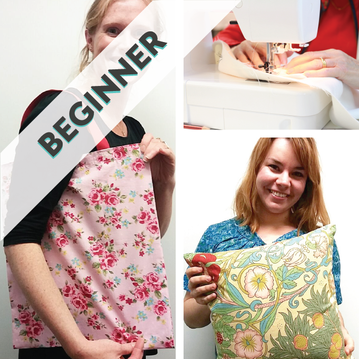Learn To Sew & Make a Bag or Cushion