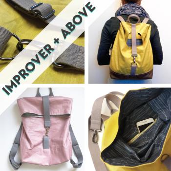 Linings, Zips, Hardware, Waterproof Fabric: Sew a Rucksack