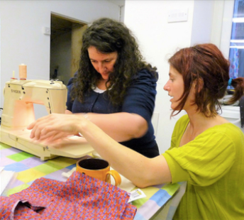 Teachers at Sew In Brighton