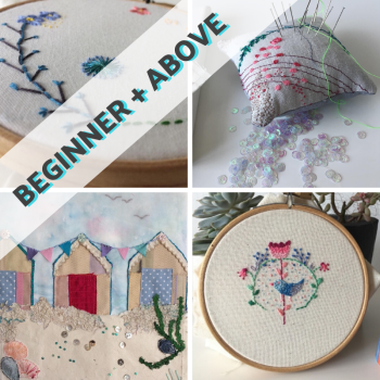 Embroidery Techniques by Hand & Machine
