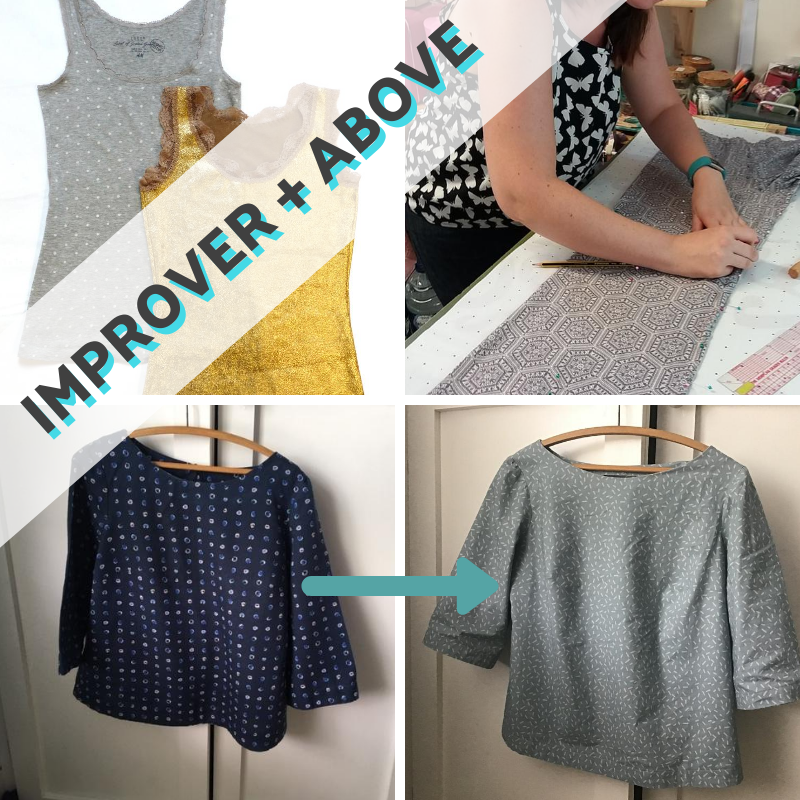 Replicate Your Clothes:  Wear Your Replica Home  (6 week course)