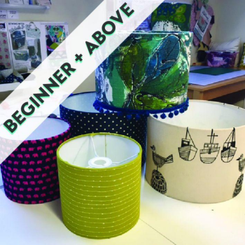 Lampshade Making (classroom dates from April)