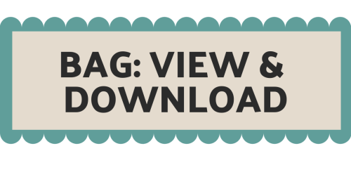 Button - view and download FREE bag tutorial Sew In Brighton