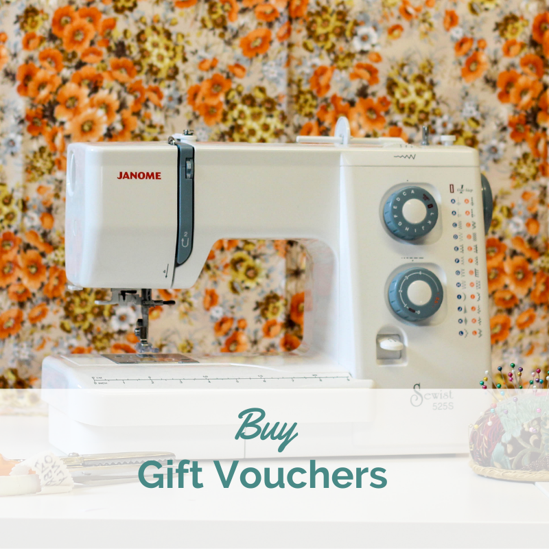 Gift Vouchers for Sew In Brighton Sewing School